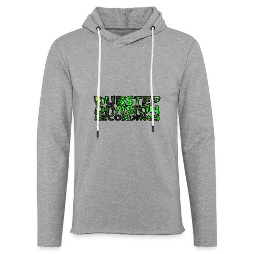 Dubstep Division Recordings Logo Green - Leichtes Kapuzensweatshirt Unisex