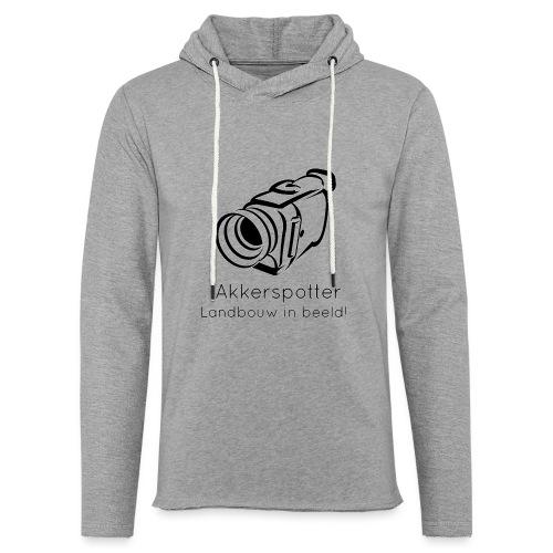 Logo akkerspotter - Lichte hoodie unisex