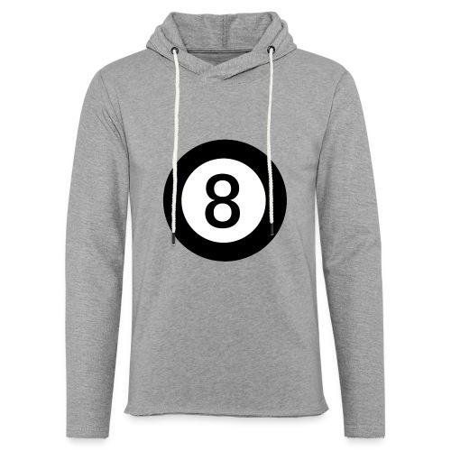 Black 8 - Light Unisex Sweatshirt Hoodie