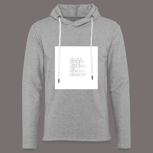 Helden - Leichtes Kapuzensweatshirt Unisex