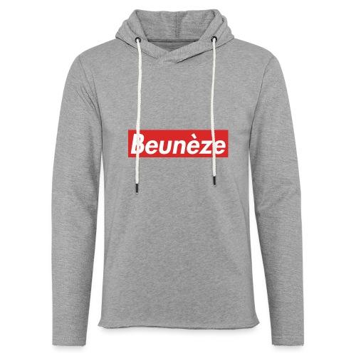 Beunèze - Sweat-shirt à capuche léger unisexe