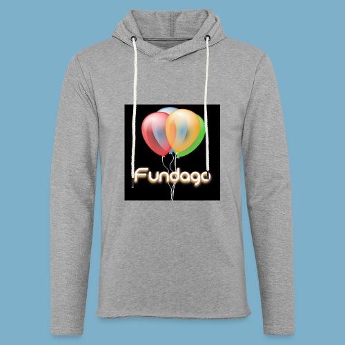 Fundago Ballon - Leichtes Kapuzensweatshirt Unisex