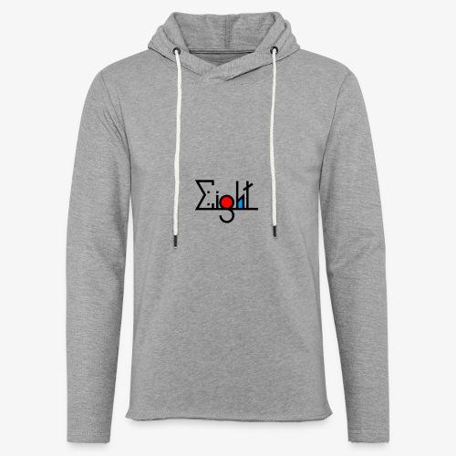 EIGHT LOGO - Sweat-shirt à capuche léger unisexe