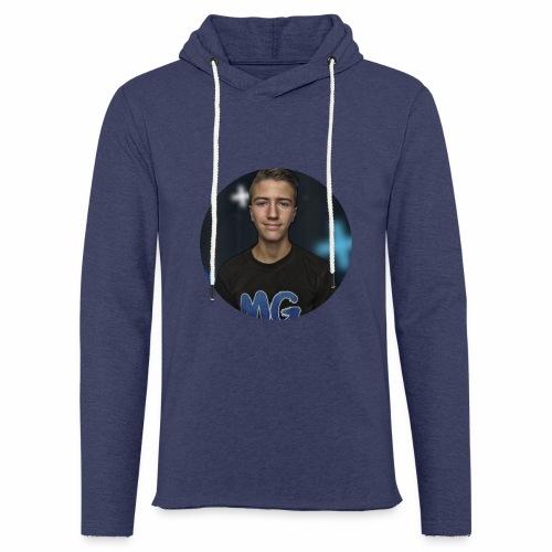 Design blala - Lichte hoodie unisex
