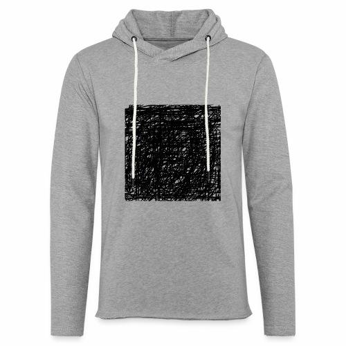 Kritzel-Design - Leichtes Kapuzensweatshirt Unisex