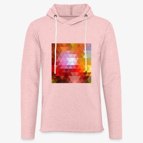 TRIFACE motif - Sweat-shirt à capuche léger unisexe
