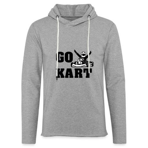 Go kart - Sweat-shirt à capuche léger unisexe