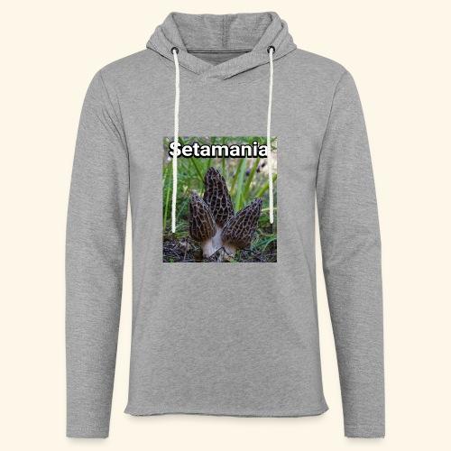 Colmenillas setamania - Sudadera ligera unisex con capucha