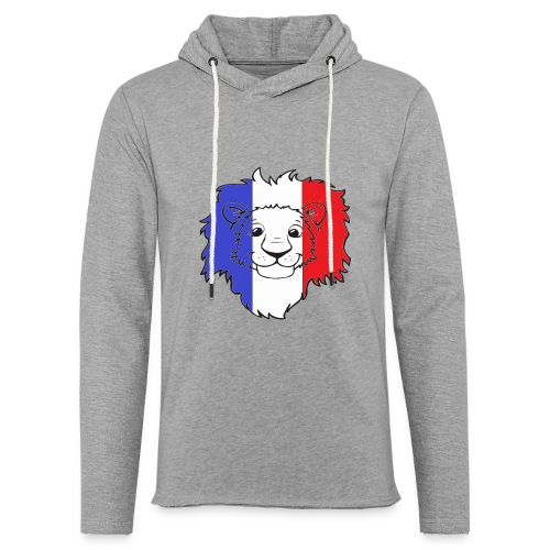 Lion France - Sweat-shirt à capuche léger unisexe