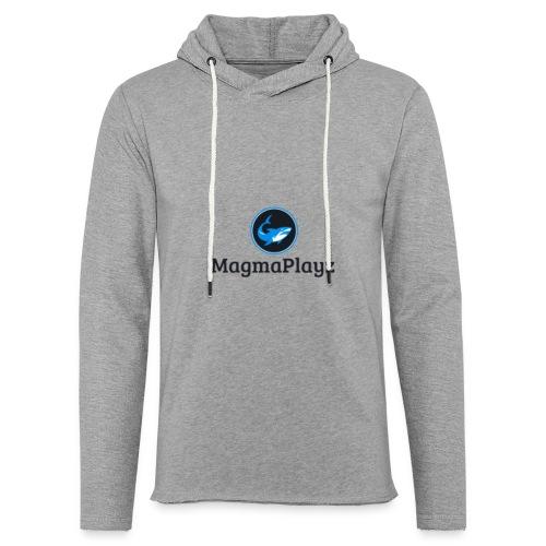 MagmaPlayz shark - Let sweatshirt med hætte, unisex