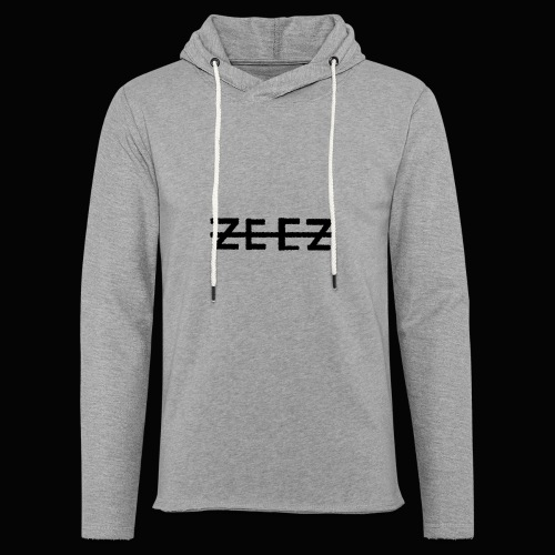 zeez poilu noir - Sweat-shirt à capuche léger unisexe