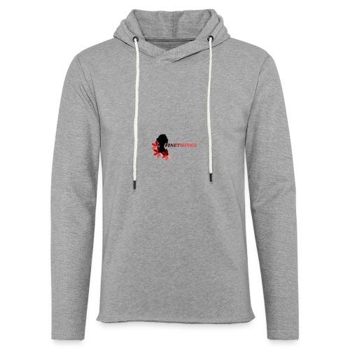 FINETHINGS - Sweat-shirt à capuche léger unisexe