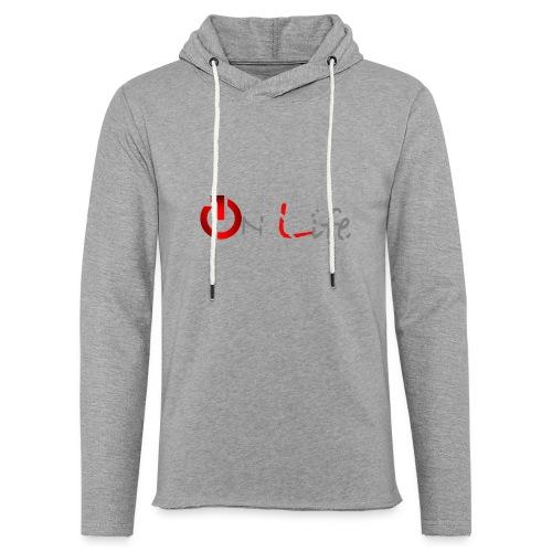 OnLife Logo - Sweat-shirt à capuche léger unisexe