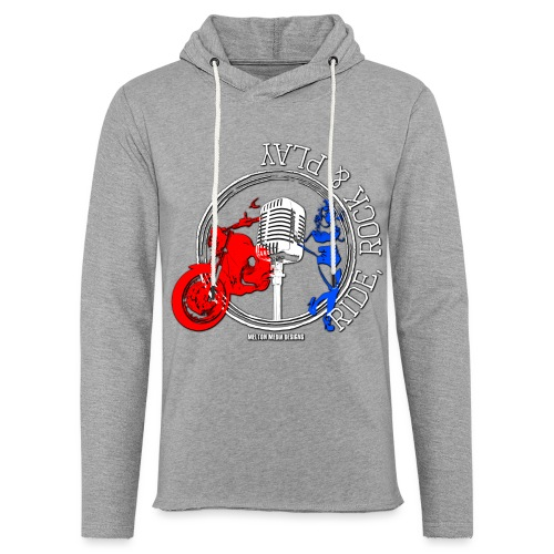 Ride Rock Play - Light Unisex Sweatshirt Hoodie