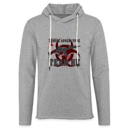 Zombie Apocalypse Team H&K - Leichtes Kapuzensweatshirt Unisex