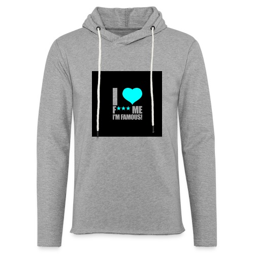 I Love FMIF Badge - Sweat-shirt à capuche léger unisexe