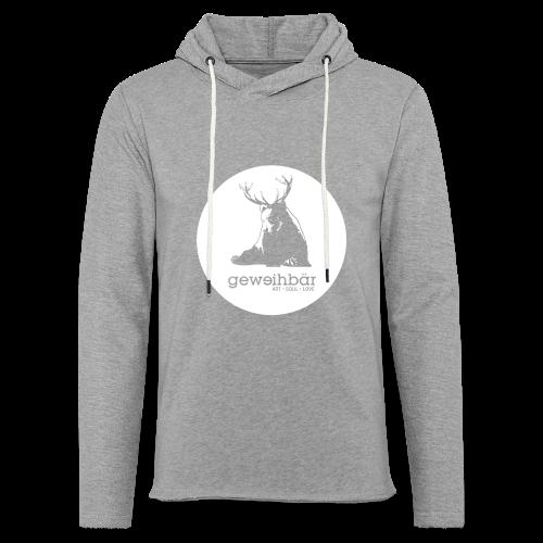 geweihbär - Leichtes Kapuzensweatshirt Unisex
