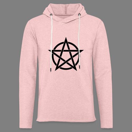 pentagramm - Leichtes Kapuzensweatshirt Unisex