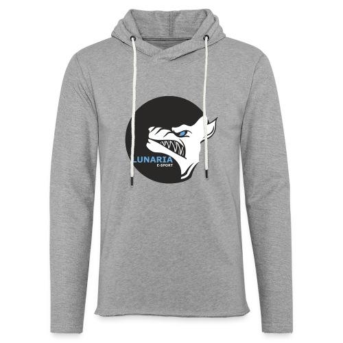 Lunaria_Logo tete pleine - Sweat-shirt à capuche léger unisexe