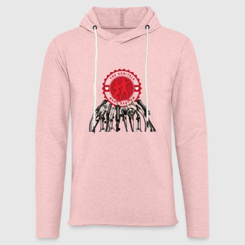 THEGENITALS - Let sweatshirt med hætte, unisex