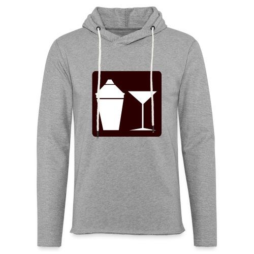 Alkohol - Leichtes Kapuzensweatshirt Unisex