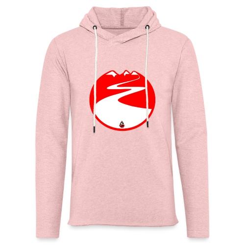Montagne rouge - Sweat-shirt à capuche léger unisexe