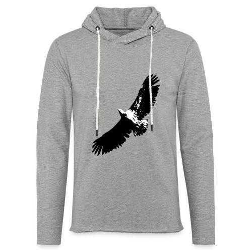 Fly like an eagle - Leichtes Kapuzensweatshirt Unisex