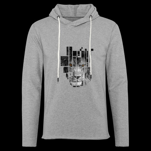 Pixel Lion Tattoo Inspire - Light Unisex Sweatshirt Hoodie