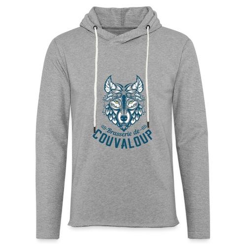Original Blue Logo - Sweat-shirt à capuche léger unisexe