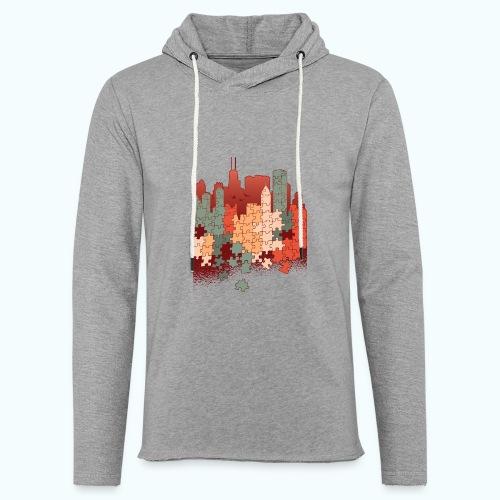 Puzzle fan - Light Unisex Sweatshirt Hoodie