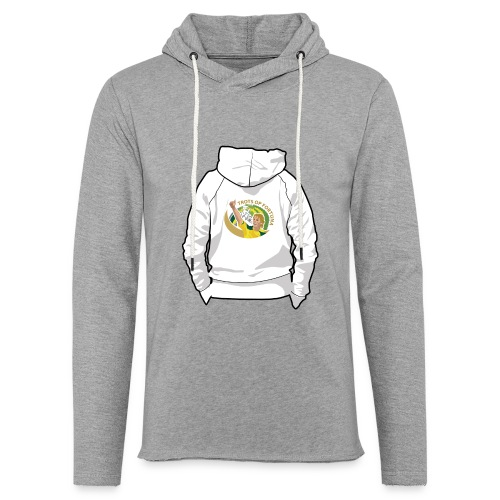 hoodyback - Lichte hoodie unisex