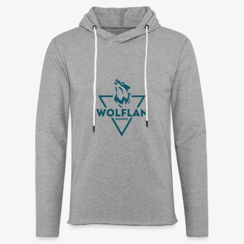 WolfLAN Logo Gray/Blue - Light Unisex Sweatshirt Hoodie