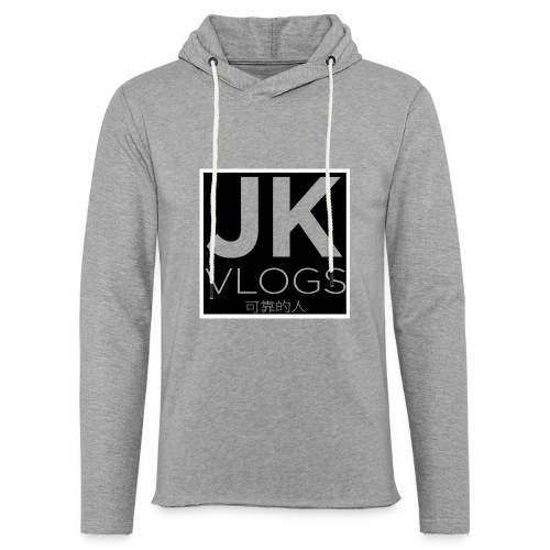 JK Vlogs Box Logo - Light Unisex Sweatshirt Hoodie