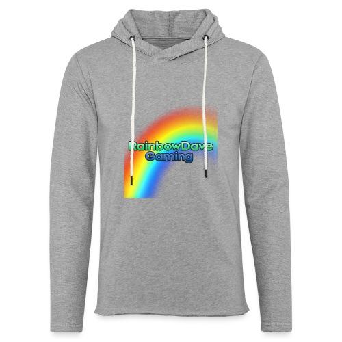 RainbowDave Gaming Logo - Light Unisex Sweatshirt Hoodie
