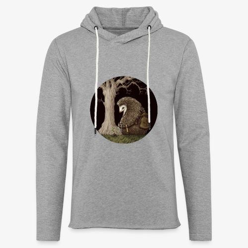 Hérisson du renouveau - Sweat-shirt à capuche léger unisexe
