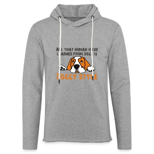 Doggy Style - Sweat-shirt à capuche léger unisexe