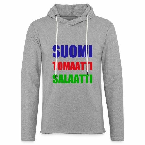 SUOMI SALAATTI tomater - Lett unisex hette-sweatshirt