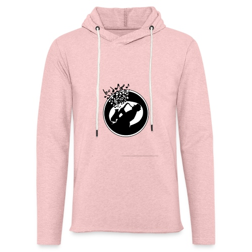 jazz - Sweat-shirt à capuche léger unisexe