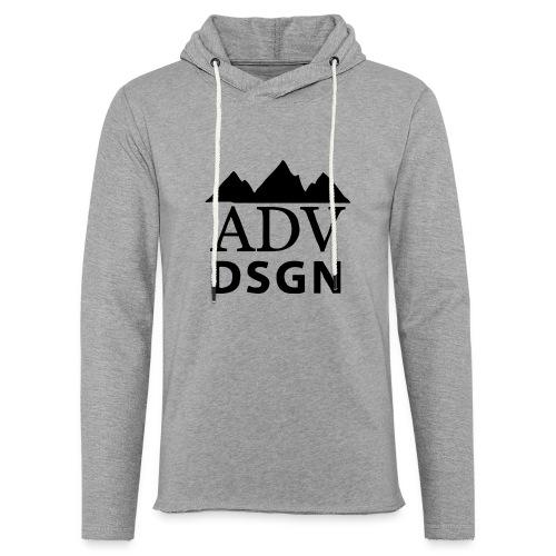 Logo ADV DSGN 2 - Leichtes Kapuzensweatshirt Unisex