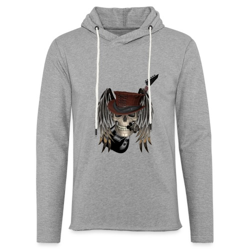 Metal Patch - Leichtes Kapuzensweatshirt Unisex