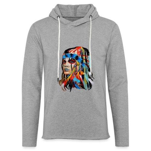 Pióra i pióropusze - Lekka bluza z kapturem