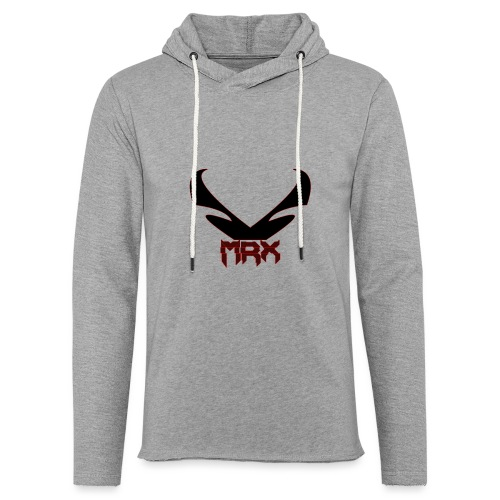 Black MRX - Leichtes Kapuzensweatshirt Unisex