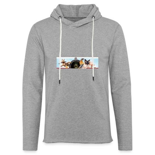Animaux logo - Lichte hoodie unisex