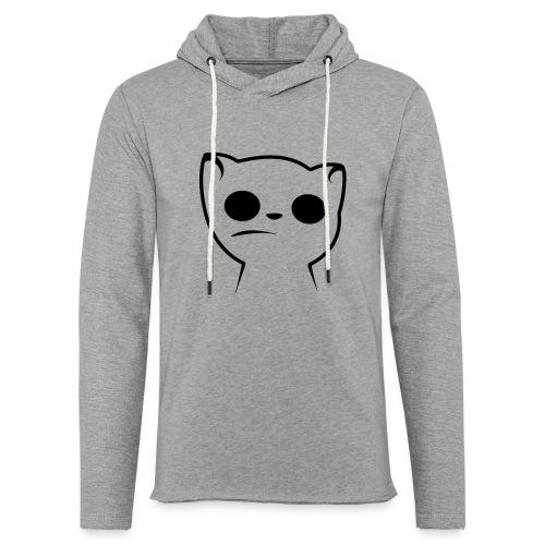 Hypnocat Weiss - Frauen - Leichtes Kapuzensweatshirt Unisex