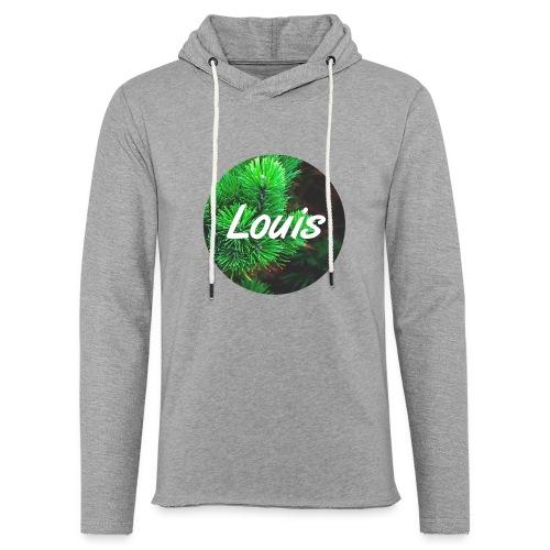 Louis round-logo - Leichtes Kapuzensweatshirt Unisex