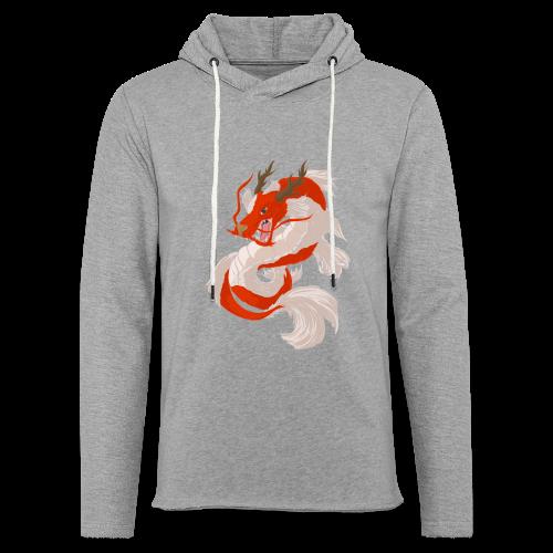 Dragon koi - Felpa con cappuccio leggera unisex