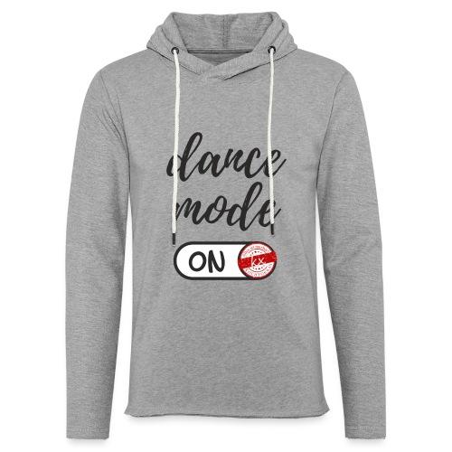 Shirt dance mode schw - Leichtes Kapuzensweatshirt Unisex