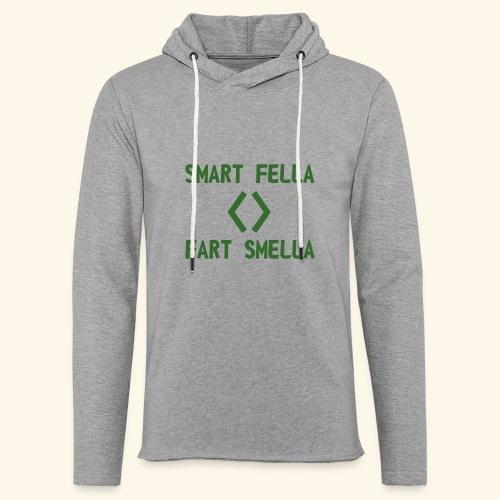 Smart fella - Felpa con cappuccio leggera unisex