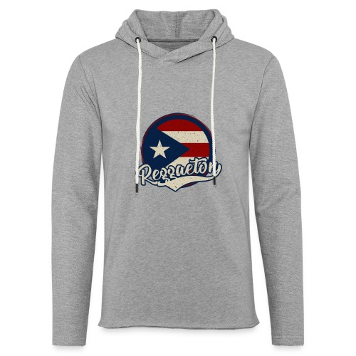 Reggaeton Music - Puerto Rico - Leichtes Kapuzensweatshirt Unisex