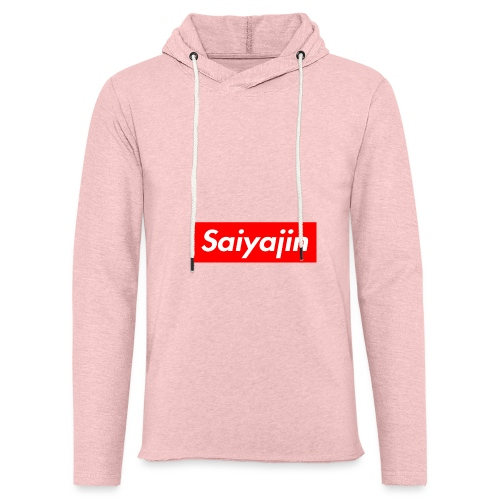 saiyajin - Sweat-shirt à capuche léger unisexe